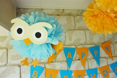 Giggle And Hoot Decorations by A Giggle And Hoot Birthday Celebration How