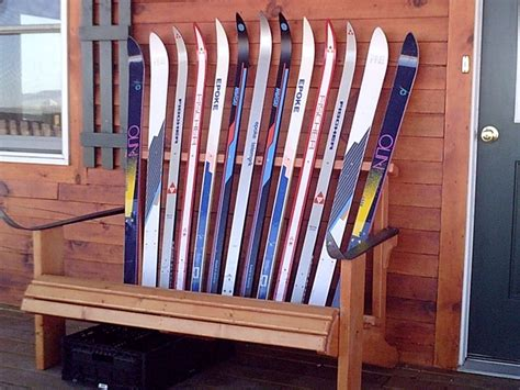 bench made out of skis bench made out of skis 28 images telluride daily photo recycled skis ski bench