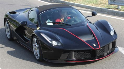 Ferrari Laferrari Back by Ferrari Laferrari Aperta Black First Time On The Road