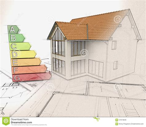 3d House Sketch 3d house and energy ratings with half in sketch phase