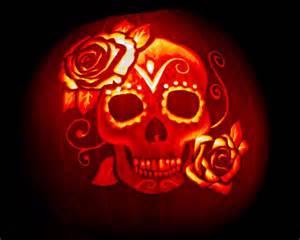 Day Of The Dead Pumpkin Template by 1000 Ideas About Sugar Skull Pumpkin On Skull