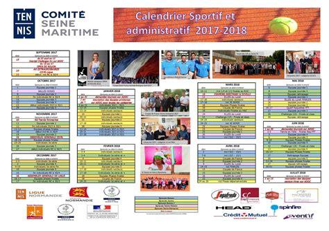 Calendrier Du Sportif Havre S Port Tennis Calendrier Sportif 2017 2018