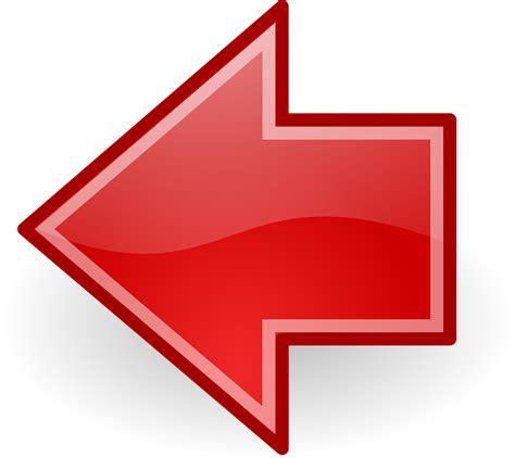 imagenes de flechas rojas vector gratis flechas izquierda anterior rojo imagen
