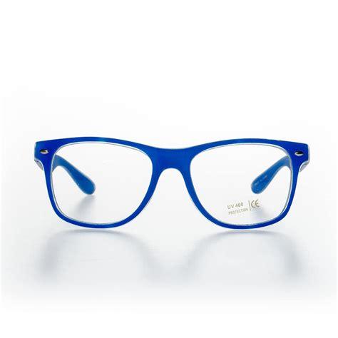 blue banana glasses blue eyeglasses frames