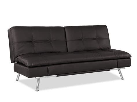 lifestyle solutions sofa bed matrix convertible sofa bed java by lifestyle solutions