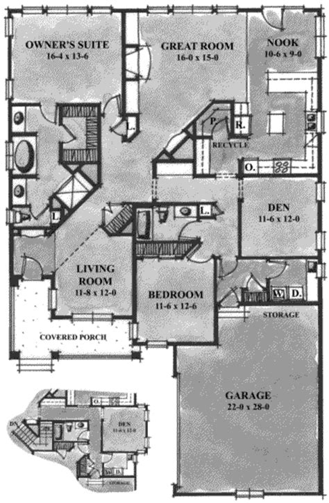 2100 sq ft house plans country style house plan 2 beds 2 baths 2100 sq ft plan