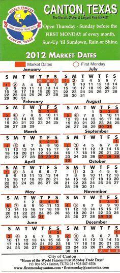 Canton Trade Days Calendar Canton Tx Flea Market Dates Autos Post