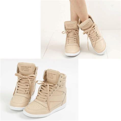 beige wedge sneakers shoes sneakers wedge sneakers beige wedges high tops