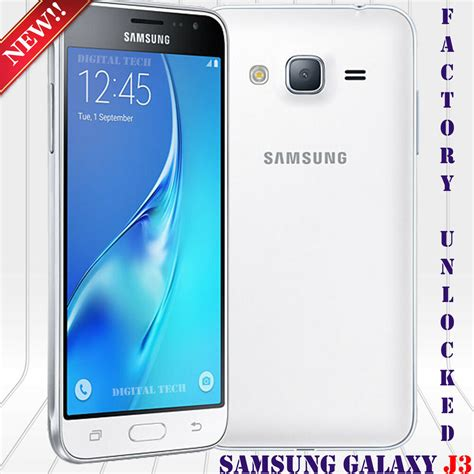 samsung galaxy j3 2016 sm j320hds android 5 1 8mp 5 quot 8gb unlocked phone white 887276166575 ebay