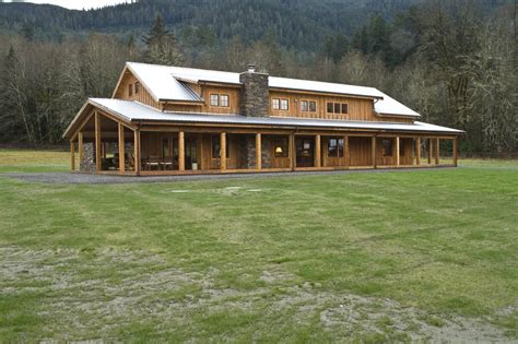 Post Frame Homes by A Gorgeous Post Frame Home By Spane Buildings Inc Yelp