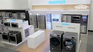 best store to buy kitchen appliances best buy rolls out mini shops for samsung appliances startribune com