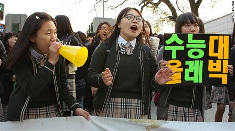 High Hell Korea 9839 south korean students year of hell culminates with exams day cnn