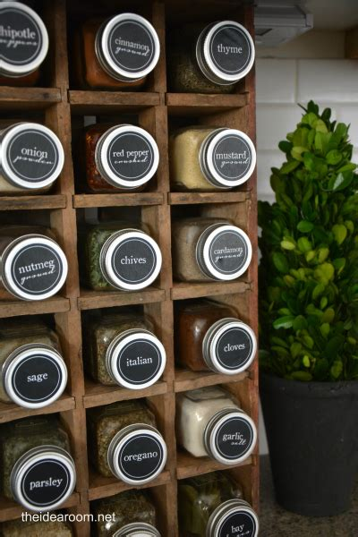 Spice Rack Labels by Spice Labels Printables The Idea Room