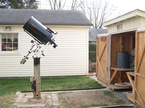 backyard telescope 1000 images about amateur backyard observatories on