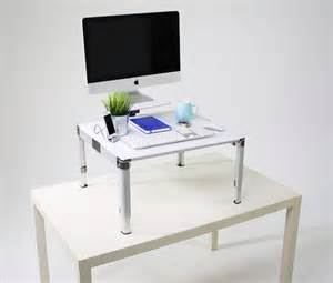 Zestdesk Portable Adjustable Standing Desk In Compact Standing Portable Desk