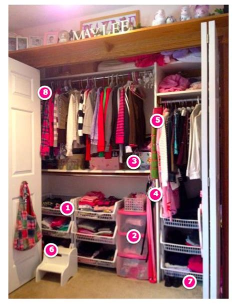 kid closet organization ideas pin by loobalee on kid s closets