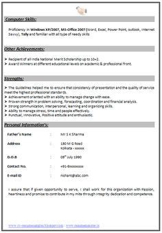 resume sles for accounting in india chartered accountant resume format freshers page 2 cv