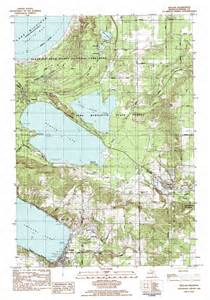 beulah topographic map mi usgs topo 44086f1
