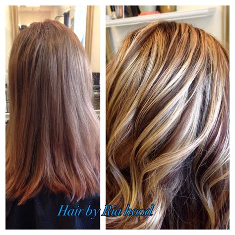 multiple highlights for brown hair image gallery multicolor highlights