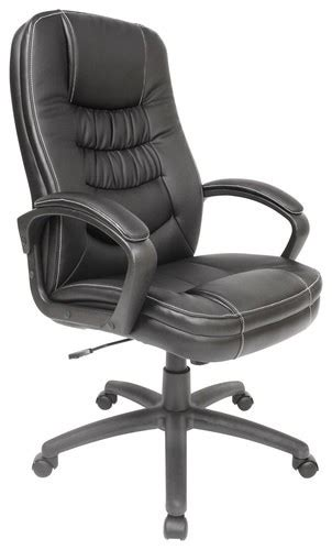 comfort products inc comfort products inc leather executive chair black 60