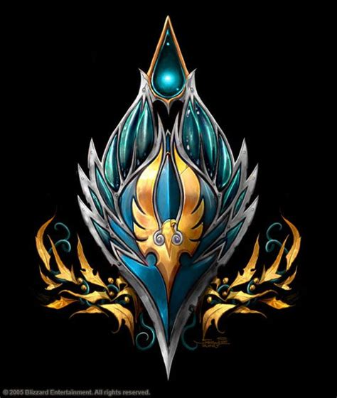 of warcraft table high quot icon of the sun quot of warcraft crests