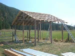 Gambrel Pole Barns Shed Roof Pole Building Famin