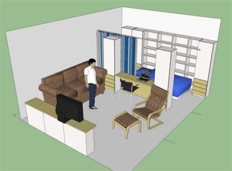 what is studio appartment squeezing into a studio apartment articles humane design improving the human habitat