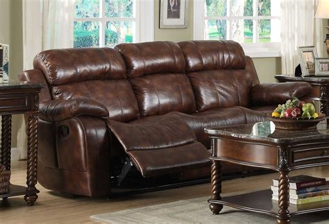 homelegance reclining sofa reviews homelegance marille reclining sofa set polished
