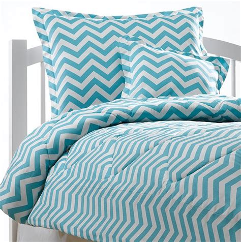 blue chevron comforter american made dorm extends product line to include bedding