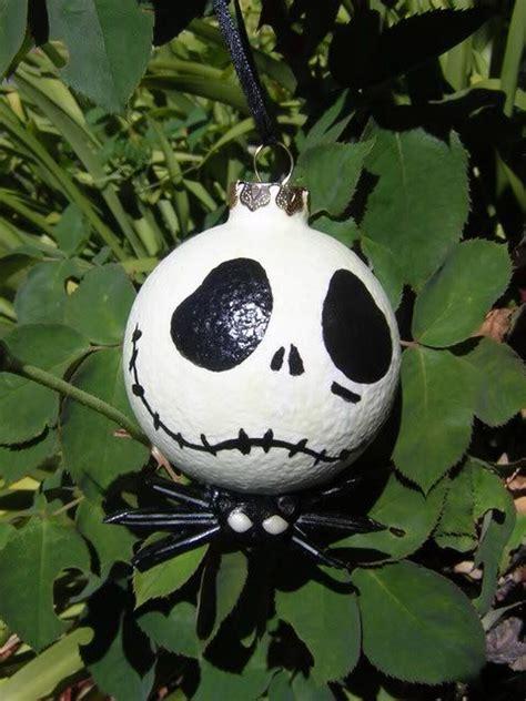 nightmare  christmas hand painted ornaments diy