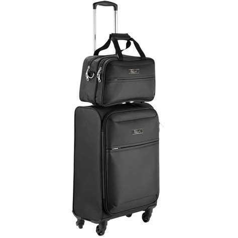 cabin max luggage cabin max copenhagen trolley suitcase set review