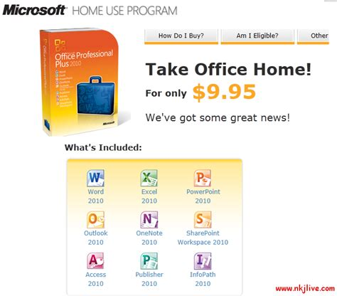 microsoft office 2010 for only 9 95