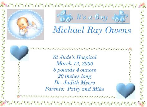 boy birth certificate template baby boy quotes about birth quotesgram