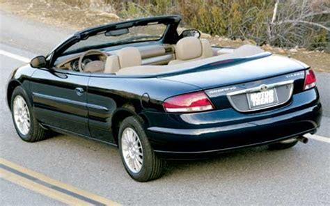 2004 Chrysler Sebring Convertible by 2004 Chrysler Sebring Convertible Road Test Review