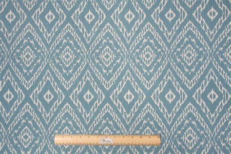 Cove Upholstery by Robert Allen Strie Ikat Rayon Cotton Upholstery Fabric