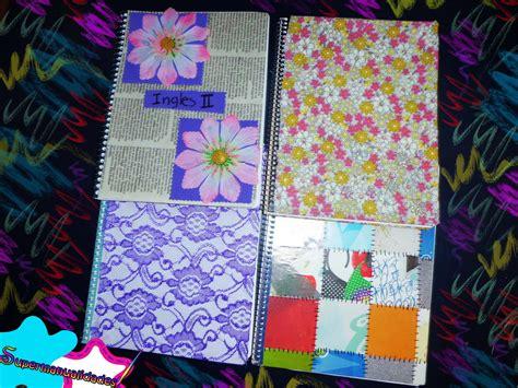 como decorar mis hojas de colores decora tus cuadernos f 225 cil y r 225 pido supermanualidades