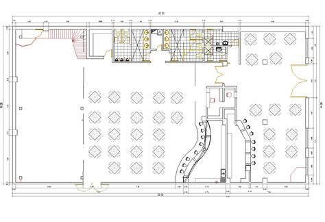 arredo bar dwg bar nightclub design cad drawing cadblocksfree cad