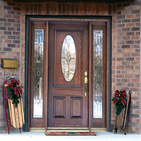 exterior front entry wood doors with glass furniture brown wooden entry door with two panel and half