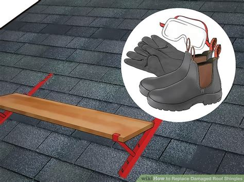 replace damaged roof shingles  steps  pictures