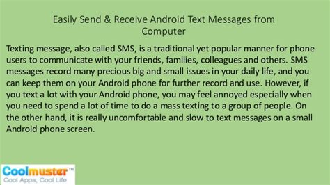 android not receiving texts easily send receive android text messages from computer