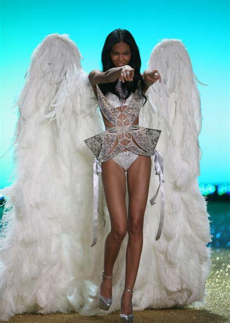 chanel iman victoria secret angel victoria s secret angel chanel iman scaladora