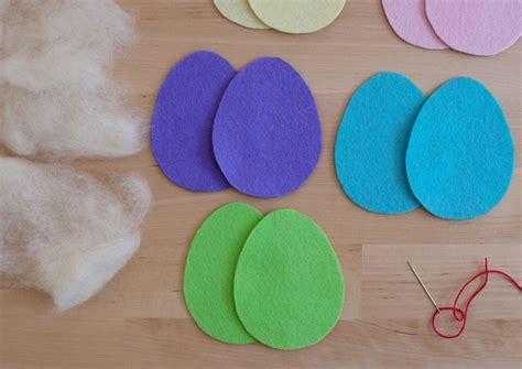 felt egg pattern sew felt easter eggs
