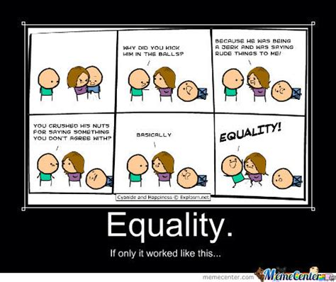 Equality Meme - equality by madsico meme center