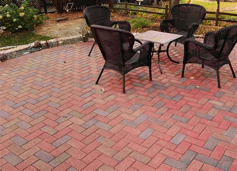clay brick pavers twin city landscape