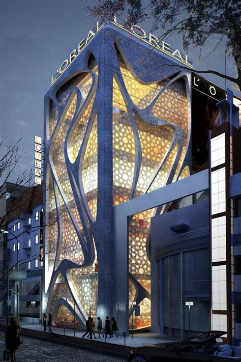 Architectural L by World Of Architecture New L Oreal Office Building By Iamz