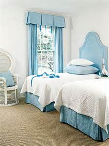 blue and white bedroom myhomeideas