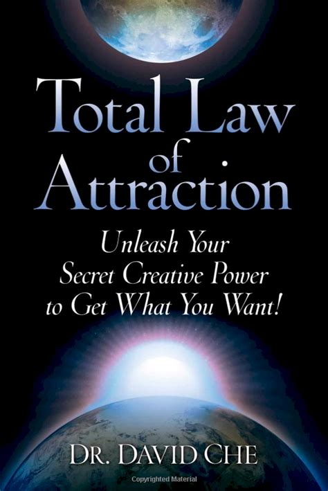 best book on of attraction total of attraction by dr david che