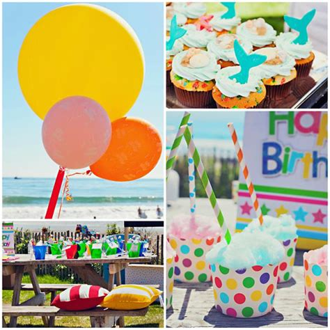party themes end of summer kara s party ideas end of summer vintage beach party