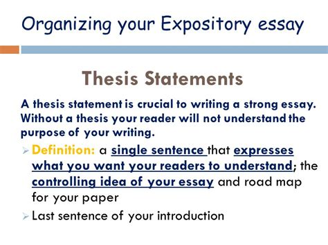 How To Write A Expository Essay Introduction by Expository Essay Writing Mrs Guillory S Class