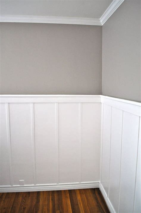 Wood Wainscoting Panels by The Board And Batton And The Grey Blogs